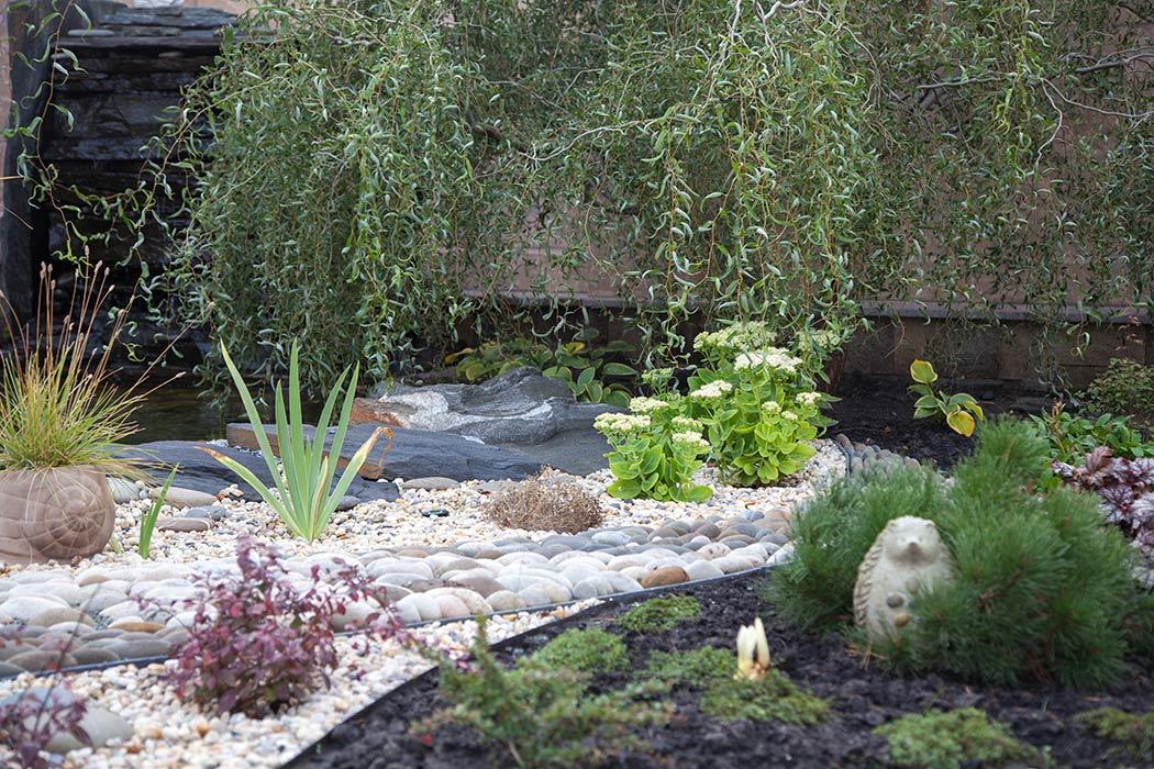 Дизайн частного сада Олега и Веры Коренчук