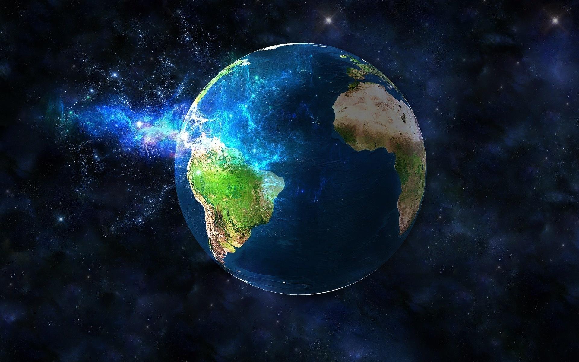 Структура суши планеты Земля