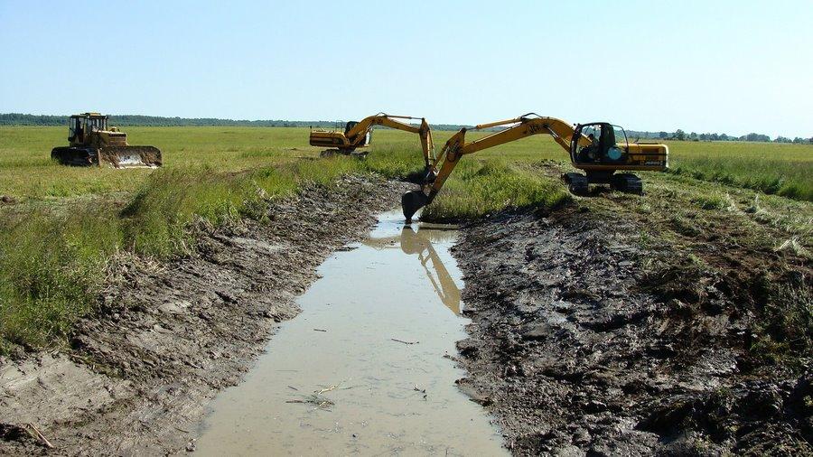 Использование материалов почвенных исследований для осушения почв